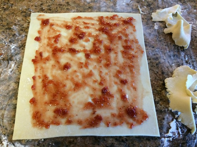 Rectangle Dough with Jam