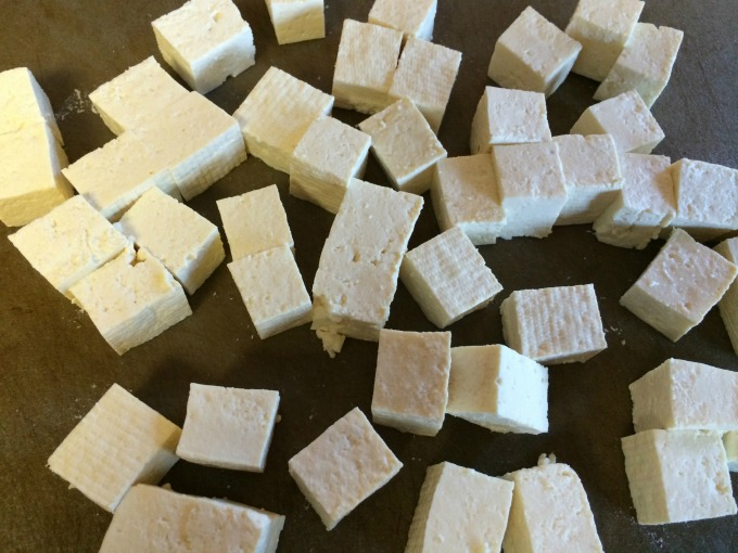 Chopped Tofu