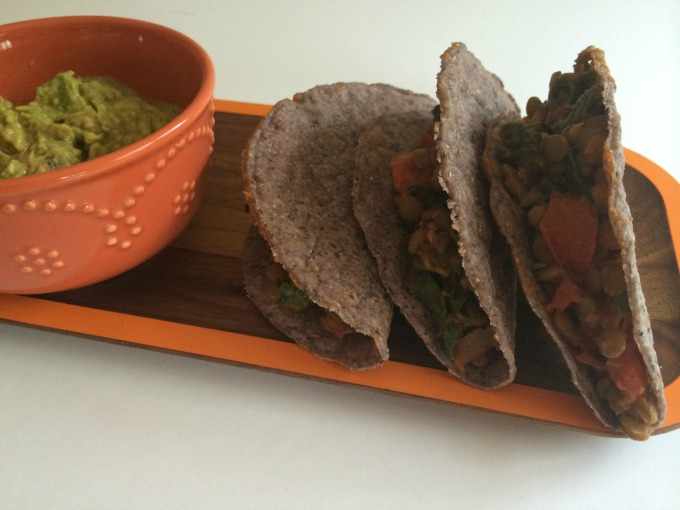 Lentil and Chard Tacos