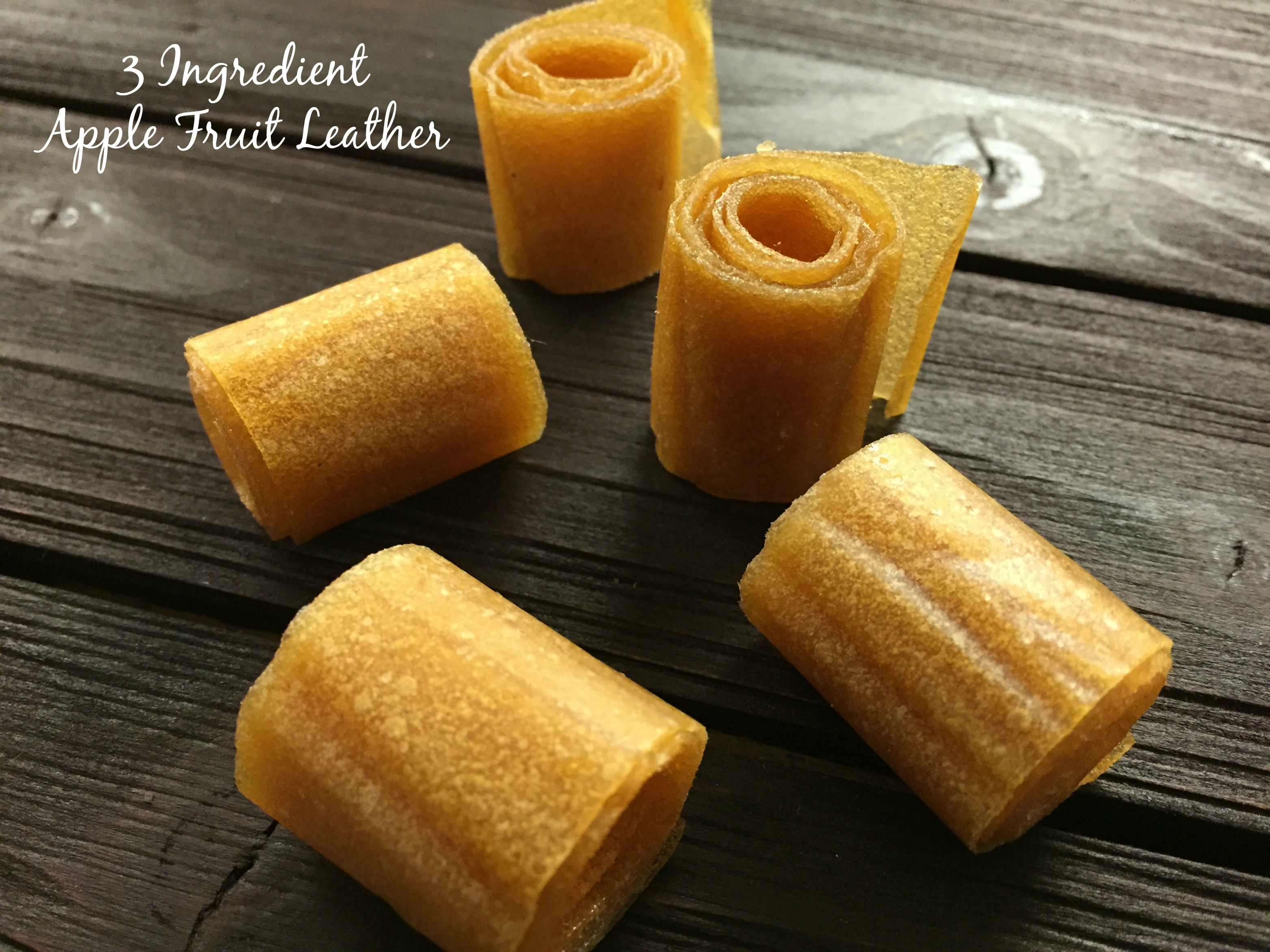 3 Ingredient Apple Fruit Leather
