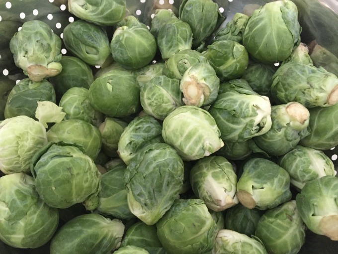 Washed Brussels Sprouts