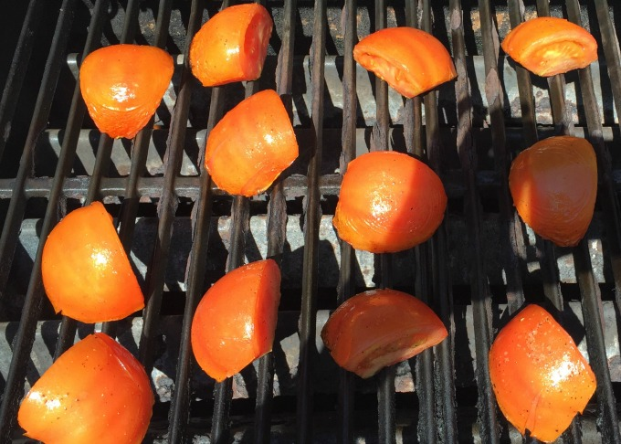 Tomatoes on Grill