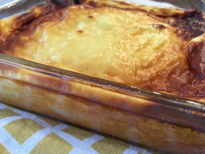 Cooked Blintz Souffle