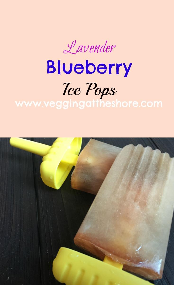 Lavender Ice Pops