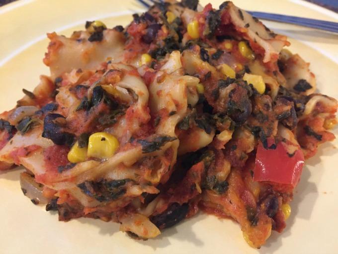 slow-cooker-pumpkin-vegetable-lasagna