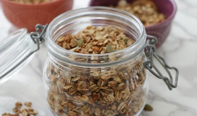 Healthy Slow Cooker Granola
