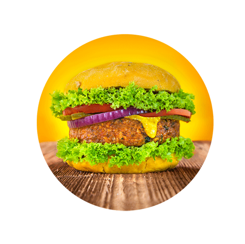 Hamburguesa vegetal Burggins de Veggins