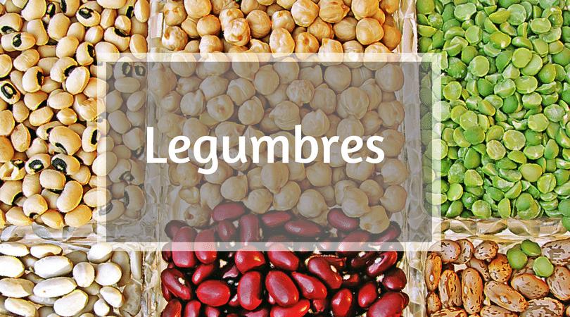 Legumbres, importante fuente de proteina vegetal
