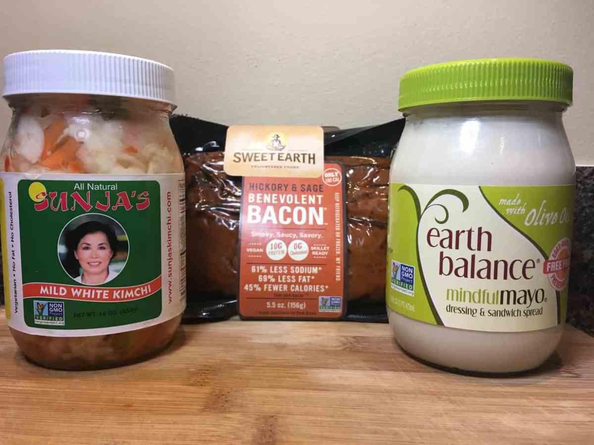 BLB Salad with Kimchi