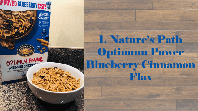Nature's Path Optimum Power Blueberry Cinnamon Flax