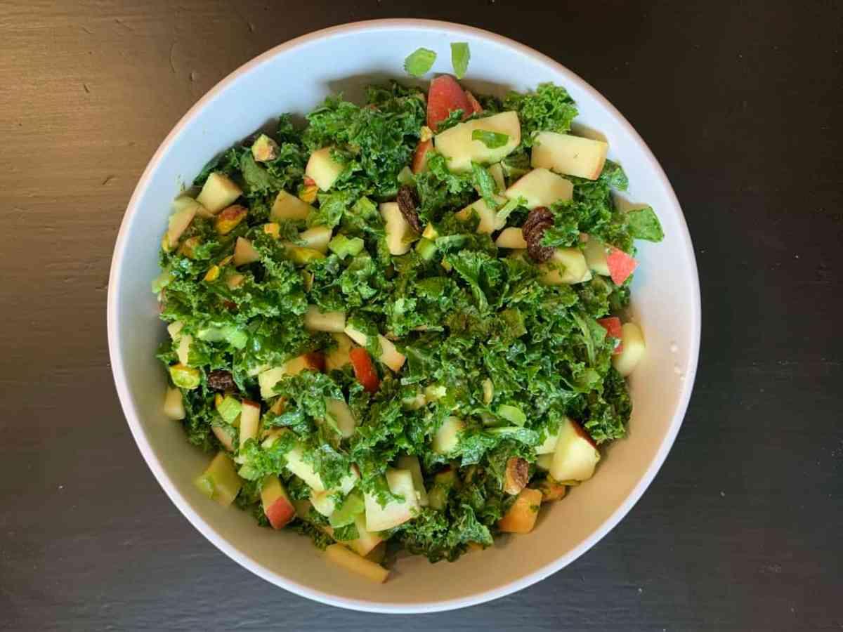 Kale & Apple Salad Full