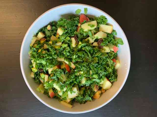 Kale & Apple Salad Full