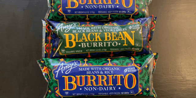 Amy's Kitchen Vegan Burritos