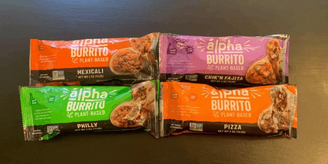 Alpha Foods Vegan Burritos