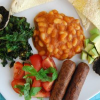 Full English Breakfast - VegHotPot Style (Vegan MoFo)