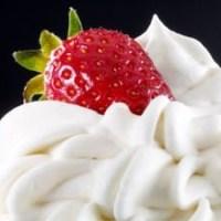 Vegan, Coconut Whipped Cream