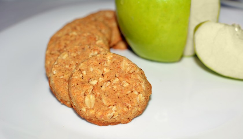 Apple and cinnamon cookies - Vegetarian Recipe