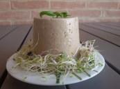 Ricotta vegetale al tahin