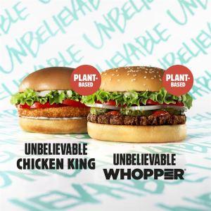 Två nya vegoburgare på Burger King! 26