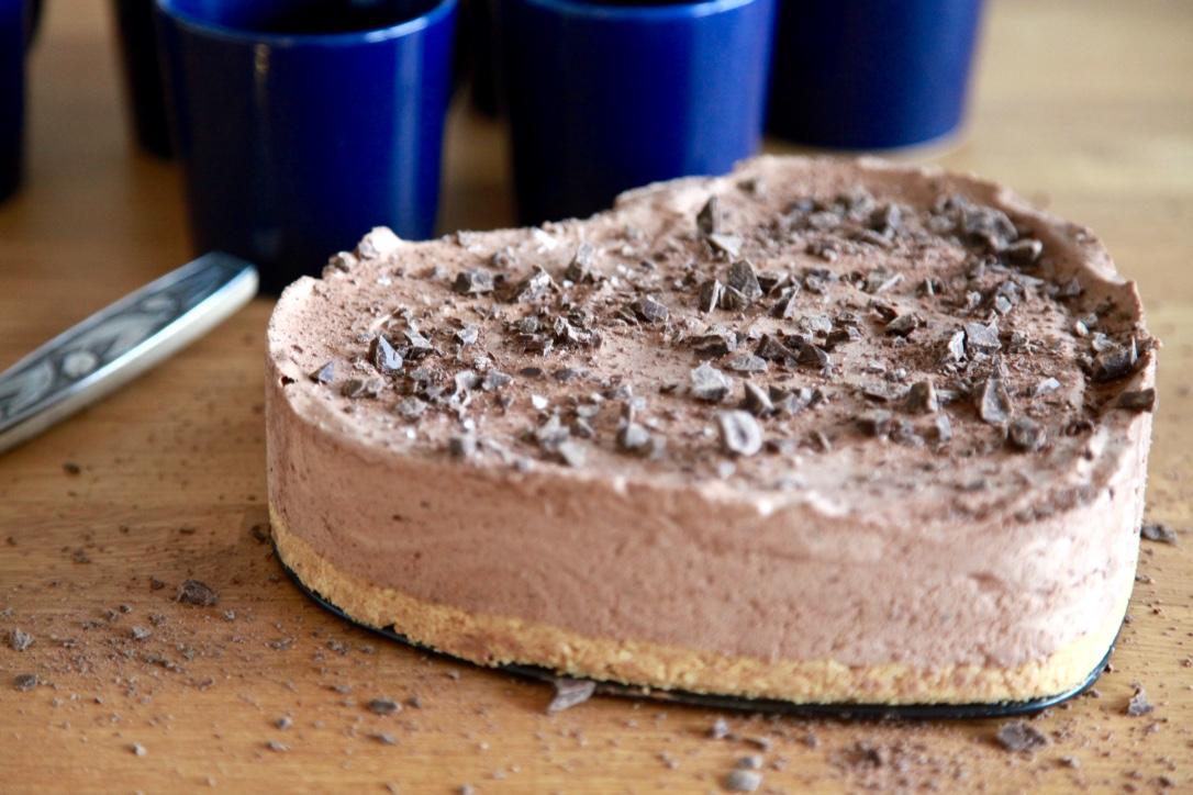 Choklad- och mandeltårta, recept