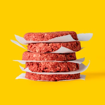 Odlad burgare från Impossible Foods
