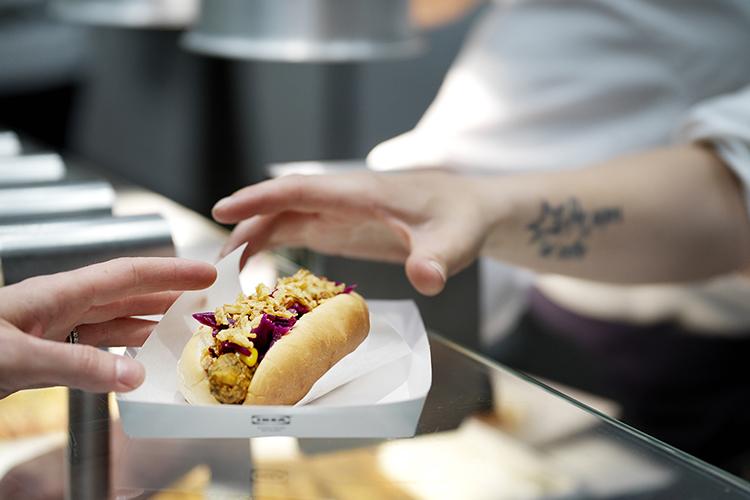 IKEA har lanserat vegansk korv