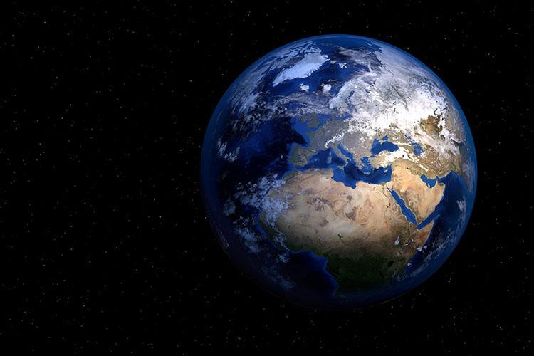 Jorden sedd från rymden
