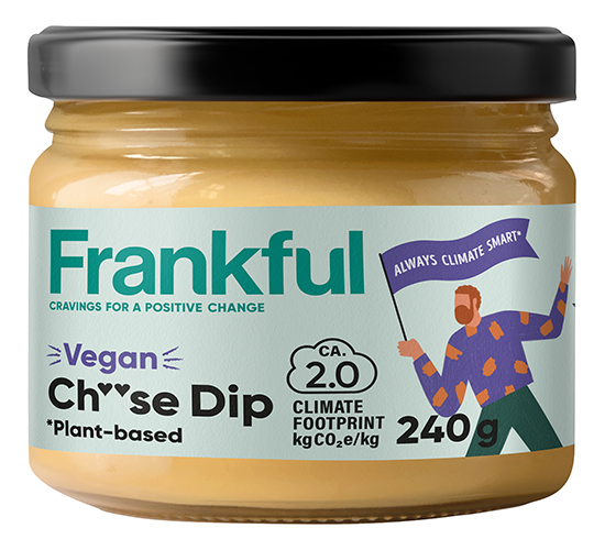 En burk Frankful Cheese dip