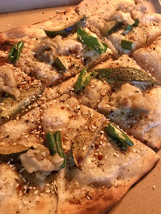 Vit pizza