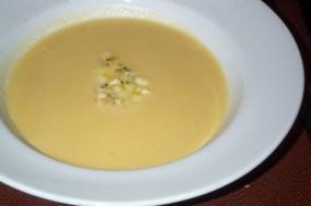 Bowl of parsnip soup