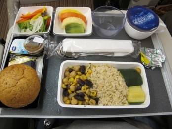 airline vegan meal