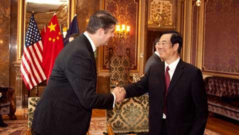 International ties with China