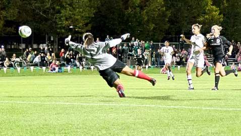 Overtime soccer again against Howard