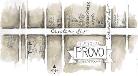 Provo Center Street: historic food and fun