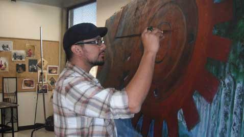 Una generación de pintores nuevos en UVU