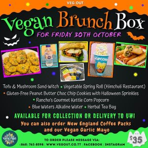 Friday 30th October Brunch Box