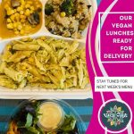 Wednesday 14th October Vegan Lunch Delivery