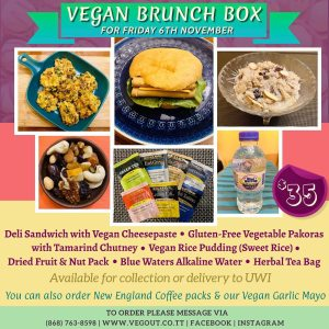 Friday 6th November Brunch Box
