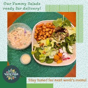 Wednesday 3rd March Vegan Lunch