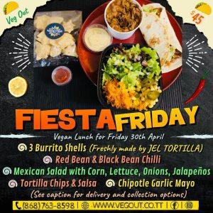 Friday 30th April Vegan Lunch