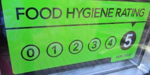 Veg Patch Kitchen 5 star hygiene rating