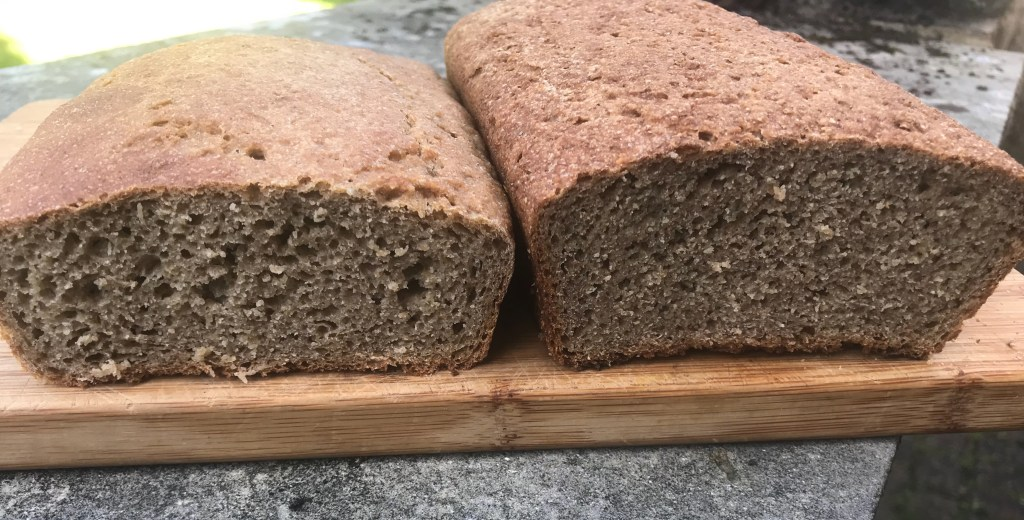 Freshly milled rivet loaf