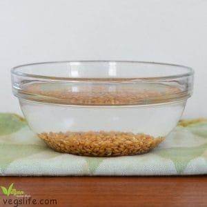 طريقة تحضير القمح المبرعم
