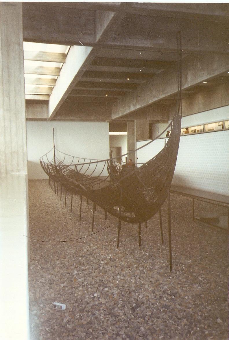 Barco Viking no Museu de Roskilde