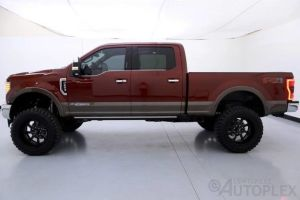 17 Ford F250 King Ranch 6 Inch FTS Lift 22 Inch American