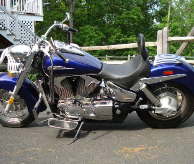 2003 Honda Vtx 1300 Vtx1300 Retro Illusion Blue Upgraded Exhaust And Corbin Seat