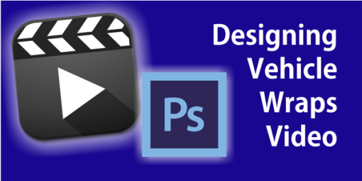 Designing Vehicle Wraps With Vehicle Templates in Adobe Photoshop Video Tutorial