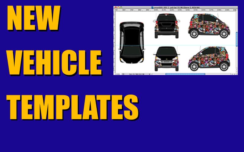 New Vehicle Templates