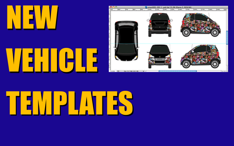 New Vehicle Templates Released in September 2016