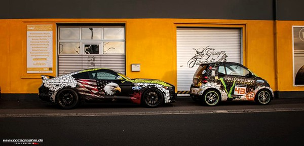 Step by Step Ford Mustang Wrap